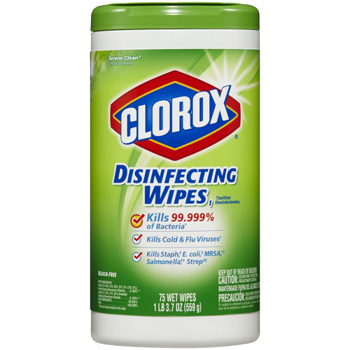 Clorox Serene Clean Disinfecting Wipes, 75 sheets