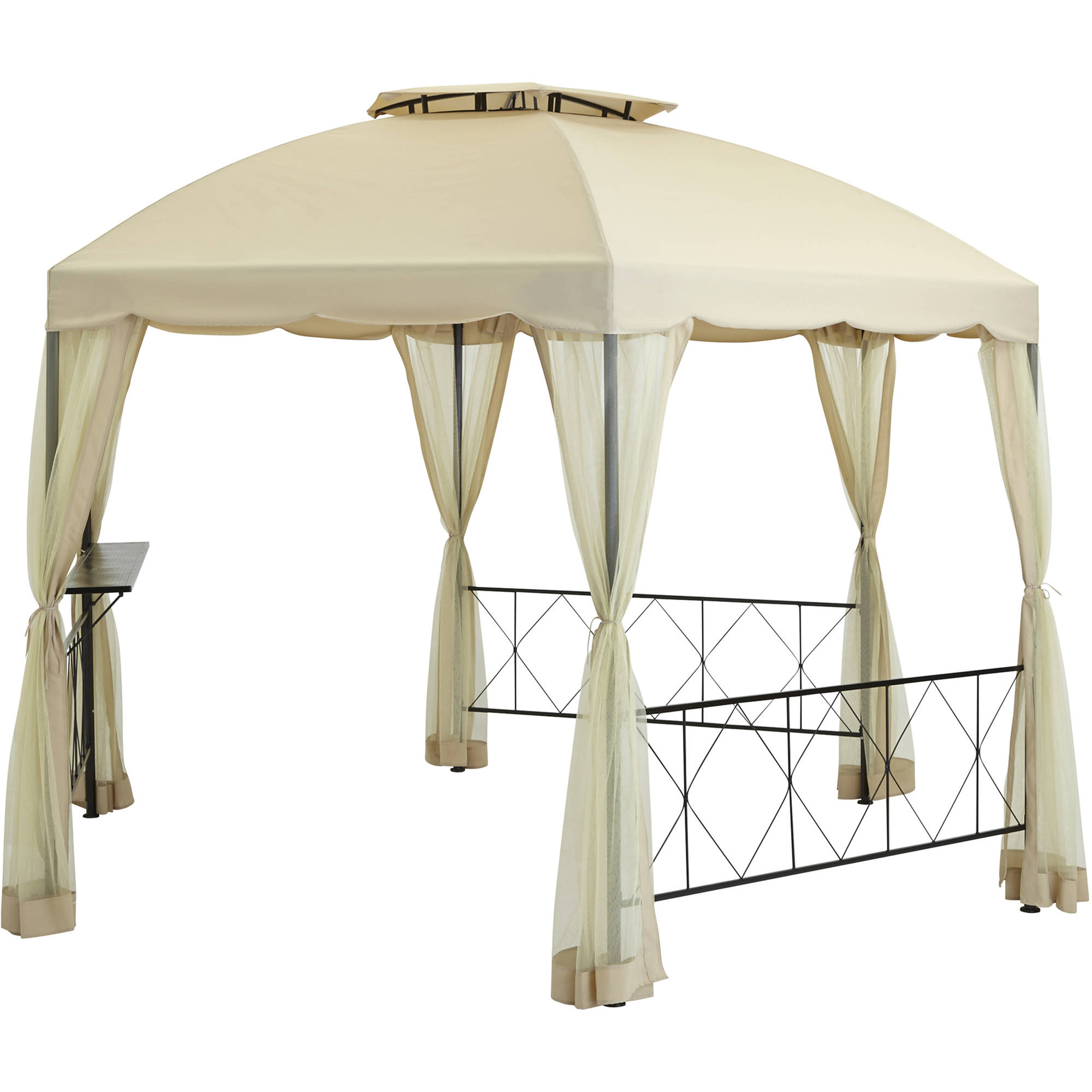 Mainstays Hexagonal Gazebo, 12-foot