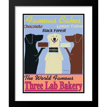Ken Bailey Framed and Double Matted Art Print 20x23