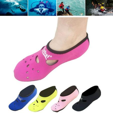 24613c4b3a2e 1 Pair Unisex Water Shoes Yoga beachsock Exercise Sport Pool Beach ...