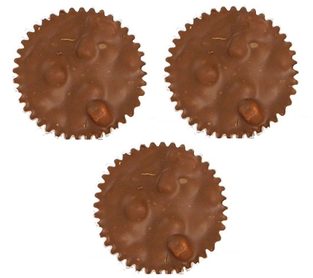 Madelaine Milk Chocolate Rocky Road Cups, (Pack of 24)