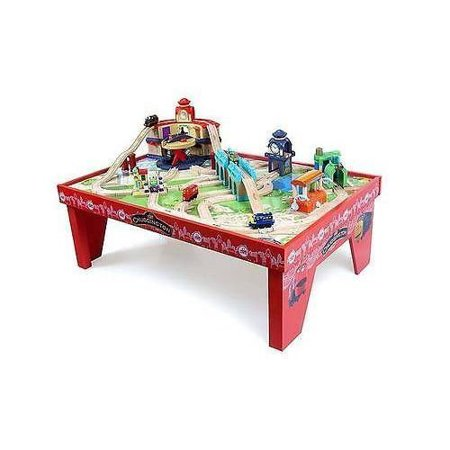 Chuggington Play Table with Assembled Play Board And Train Set ...