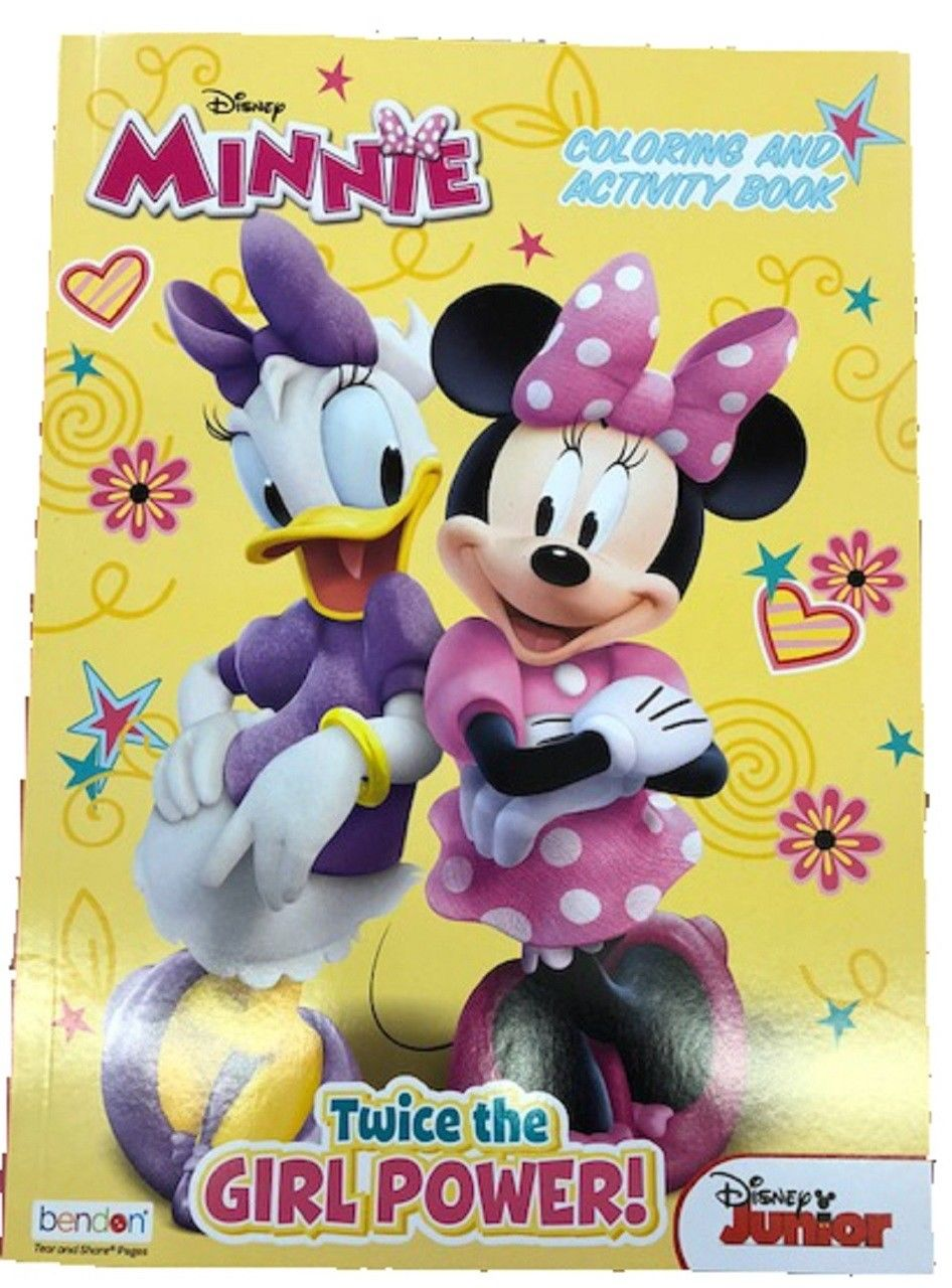 - Coloring Book - Minnie Mouse - 128p Jumbo Coloring And Activity Book -  Walmart.com - Walmart.com