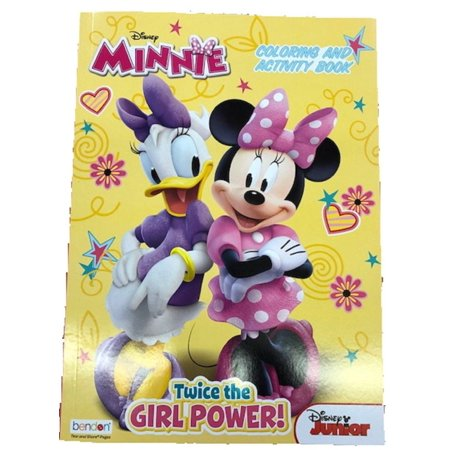 Coloring Book - Minnie Mouse - 128p Jumbo Coloring and Activity (Minnie Color)