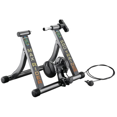 Rad Cycle Products Max Rider Pro Italian Bike Trainer With Remote Shifter For Professional Work Out Indoors