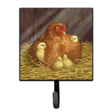 My Little Chickadees Hen with Chicks Leash or Key Holder ASAD0109SH4