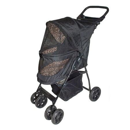 Pet Gear Happy Trails Lite No Zip Folding Puppy Dog Cat Pram Buggy Cart Stroller