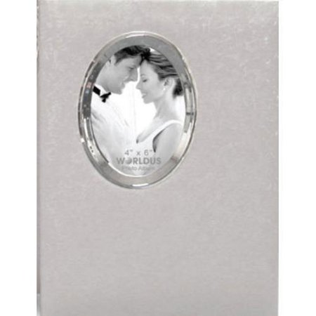 300 Pocket 3 up White Wedding Bookbound Photo Album ()