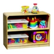 Korners For Kids Low 2 Shelf Storage Cabinet