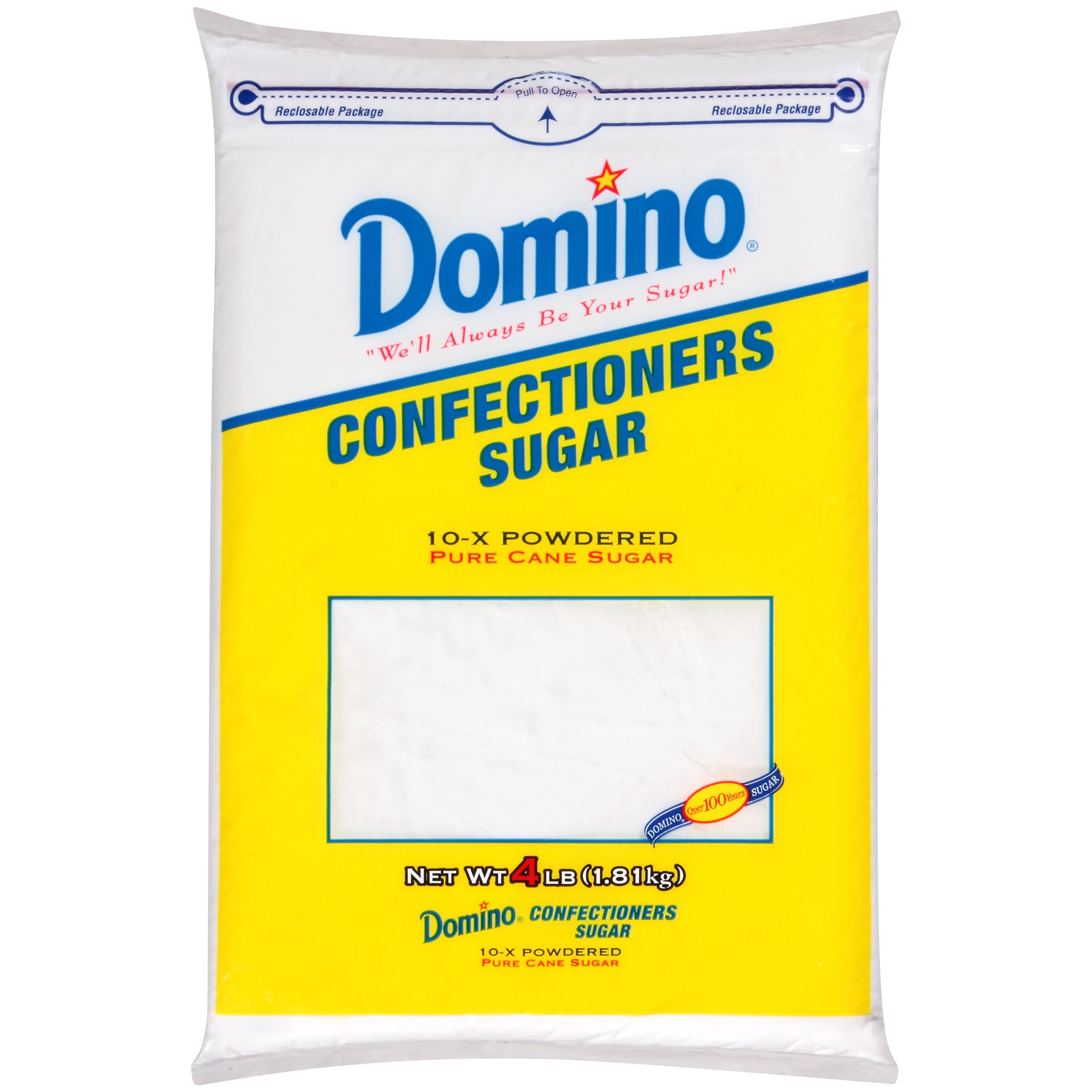 Domino Confectioners Sugar, 4 lbs