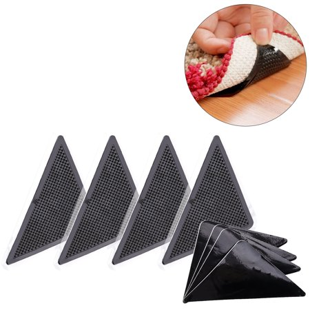15 7 5cm Reusable Triangle Shaped Anti Skid Rubber Floor
