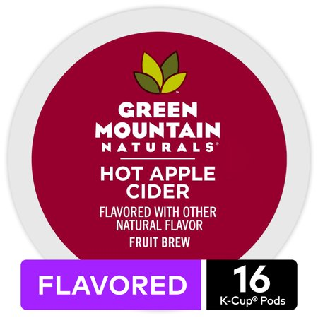 Green Mountain Naturals Hot Apple Cider, Keurig K-Cup Pods, 16ct