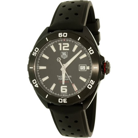 Tag Heuer Men's Formula 1 WAZ2115. FT8023 Black Silicone Swiss Quartz Watch
