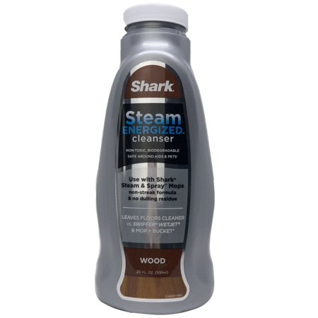 Shark Steam Energized Cleanser, Wood, 20 oz