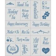 "Inkadinkado Mason Jar Foam Stamps, 3"" x 5"" Sheet"
