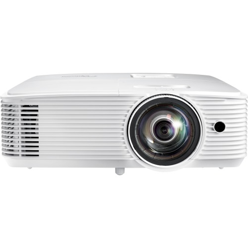 Optoma W318ST 3D Ready Short Throw DLP Projector - 720p - HDTV - 16:10 - Rear, Ceiling, Front - 203 W - 6000 Hour Normal Mode - 10000 Hour Economy Mode - 1280 x 800 - WXGA - 20,000:1 - 3500 lm - HDMI