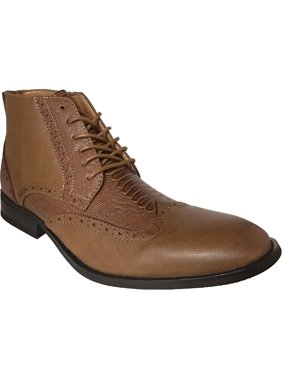 64a6f8ee4949 Product Image AMERICAN SHOE FACTORY Exotic Look Leather Lined Wingtip  Chukka, Men