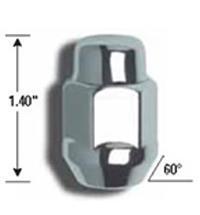 Gorilla Auto 91197B Gorilla Lug Nuts Chrome 9 16in Fits:UNIVERSAL 0 0 NON APP by Gorilla Auto