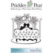 Prickley Pear Cling Stamps 3.75 Inch X 3 Inch-Cozy By Mantel