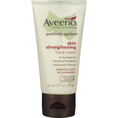 Aveeno Positively Ageless Skin Strengthening Hand Cream, 2.7 oz
