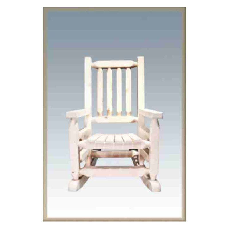 Montana Woodworks Homestead Log Rocker Child's