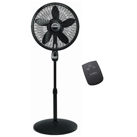 Lasko 18 Inch Oscillating Cyclone Pedestal Stand Fan w/ Remote Control (2 Pack) - image 2 of 6