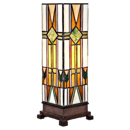 River of Goods Hurricane Mission Style Table Lamp](Discount Home Goods)