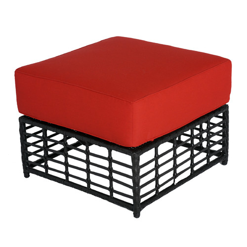 Meadow Decor Melrose Ottoman with Cushion