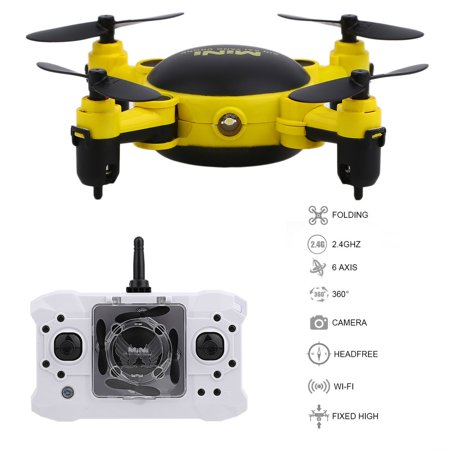 4 Channels D rone Mini Foldable 4 Axles RC Quadcopter Photography Video Device