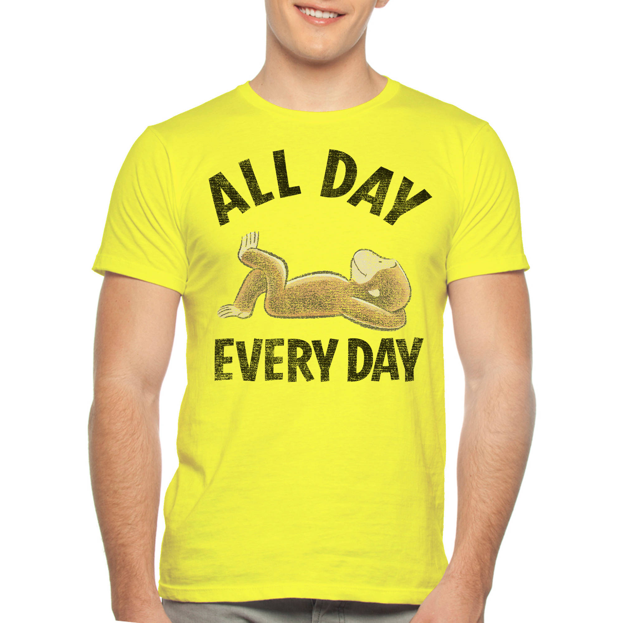 Curious George Men's Graphic Tee