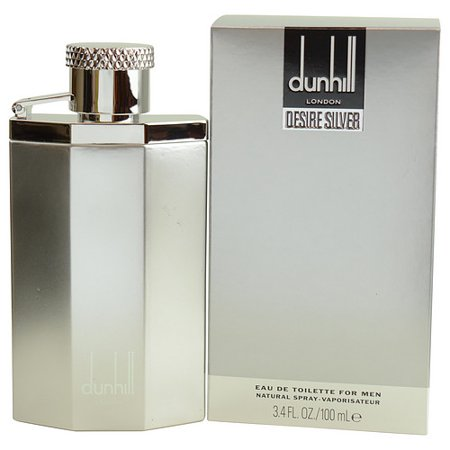 - DESIRE SILVER by Alfred Dunhill - EDT SPRAY 3.4 OZ - MEN