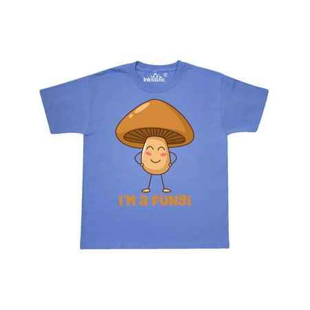 5fefd17a Inktastic - I'm A Fungi Youth T-Shirt - Walmart.com