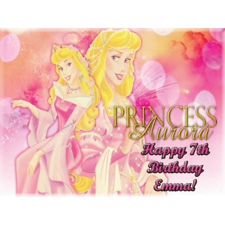 Single Source Party Supply - Disney Princess Edible Icing Image #11-8.25