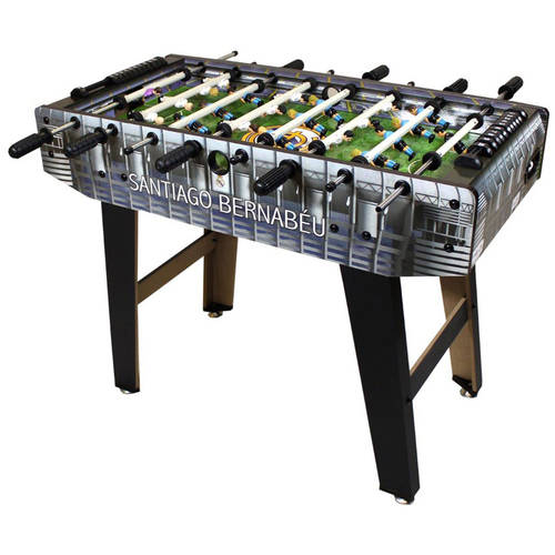 Minigols Real Madrid Foosball Table with 11 Real Madrid Figures and 11 Generic Figures