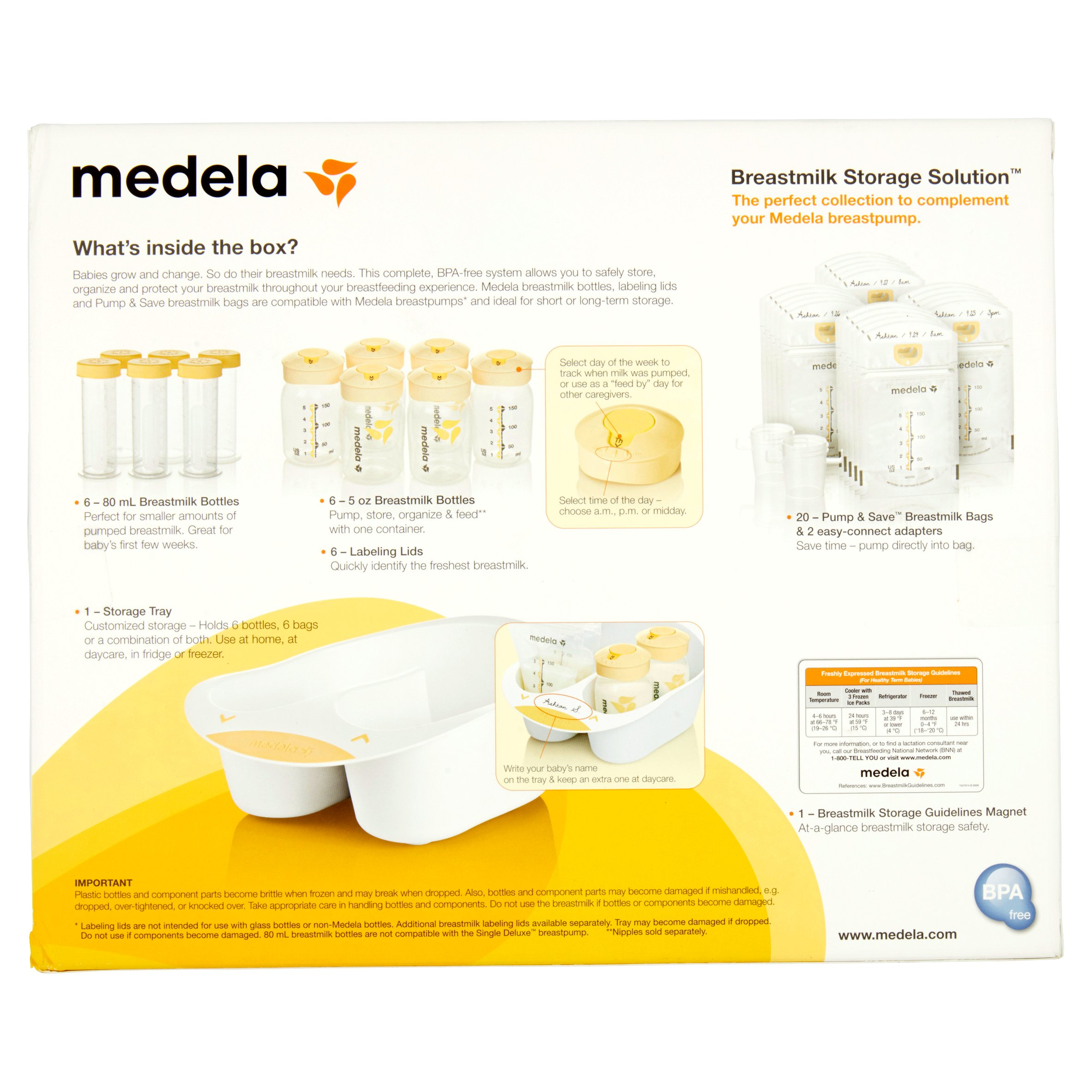 Medela Breast Milk Storage Solution Walmartcom