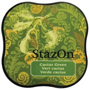 StazOn Midi Ink Pad-Cactus Green