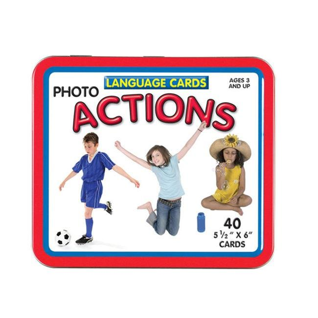Actions Photo Language Cards