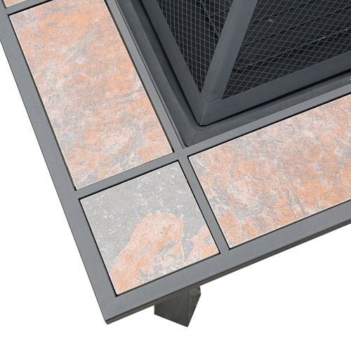 axxonn 2-in-1 malaga square tile top fire pit/coffee table - best