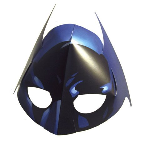 Batman The Dark Knight Masks (4 count) by Hallmark - The Dark Knight Clown Mask