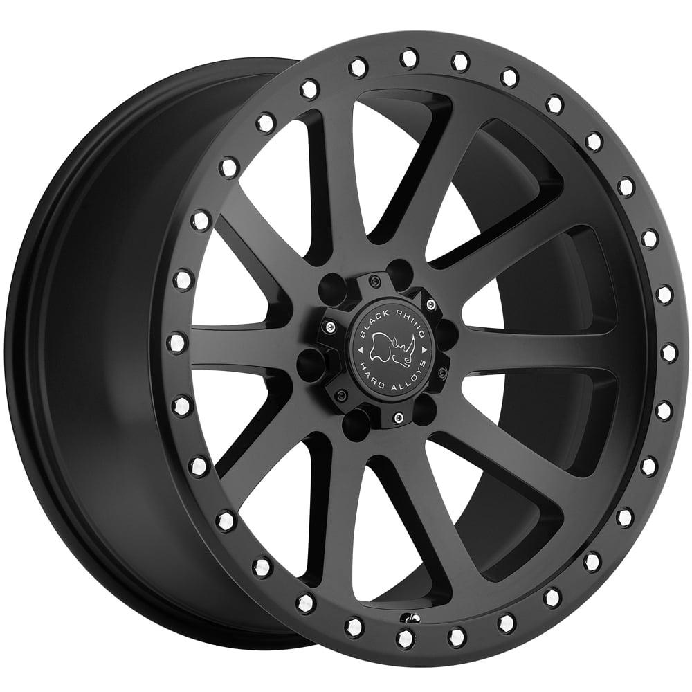 "Black Rhino Mint 17x9 5x139.7 (5x5.5"") +0mm Matte Black Wheel Rim"