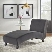 TMS Simmons Chaise Lounge Chair, Dark Gray