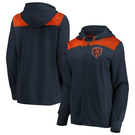 Chicago Bears Fanatics Branded Women's Team Best Full-Zip Hoodie -