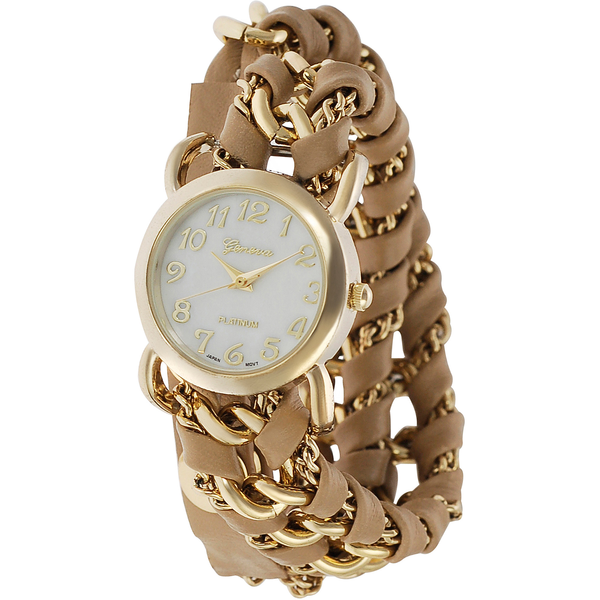 Brinley Co. Chain Wrap Watch