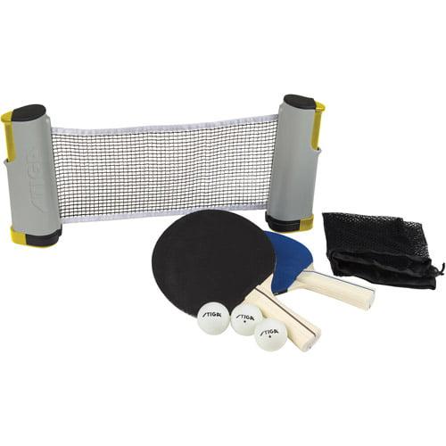 Retractable Table stiga retractable table tennis net set - walmart