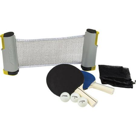 Pink Prong Set - Stiga Retractable Table Tennis Net Set