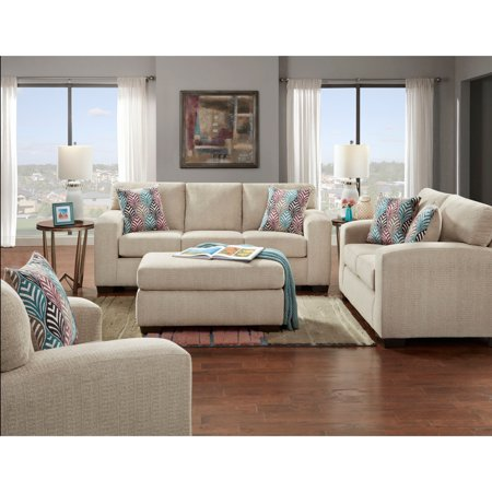 Cambridge Chamberlain Four Piece Living Room Set Sofa Loveseat Extra Large