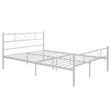 cheerwing easy set up premium metal bed frame platform 19185 | d44aa56d 592f 4ed6 9616 640aa3ee1a4b 1 dc98ed0712adf361866cb2d6f5709ce5 odnheight 450 odnwidth 450 odnbg ffffff