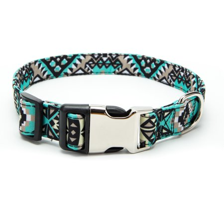 NK Soft & Comfy Flower Print Polyester Webbing Dog Collars, Harnesses or Leashes