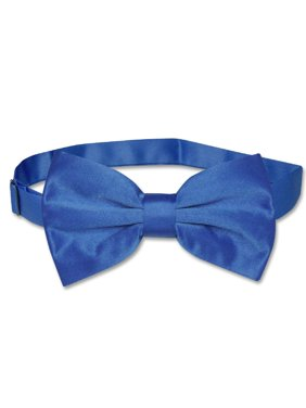 632320cd27e3 Product Image Vesuvio Napoli BOWTIE Solid ROYAL BLUE Color Men's Bow Tie  for Tuxedo or Suit