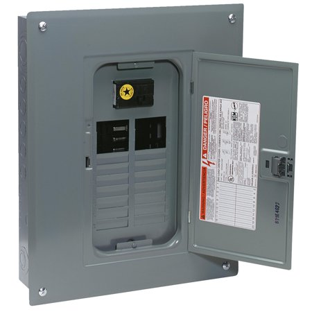 100a Main Breaker - Square D QO 100A Indoor Main Breaker Plug-on Neutral Load Center